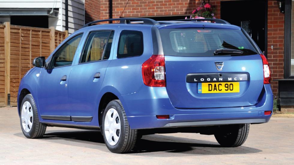 coches menos estrellas euroncap Dacia Logan MCV
