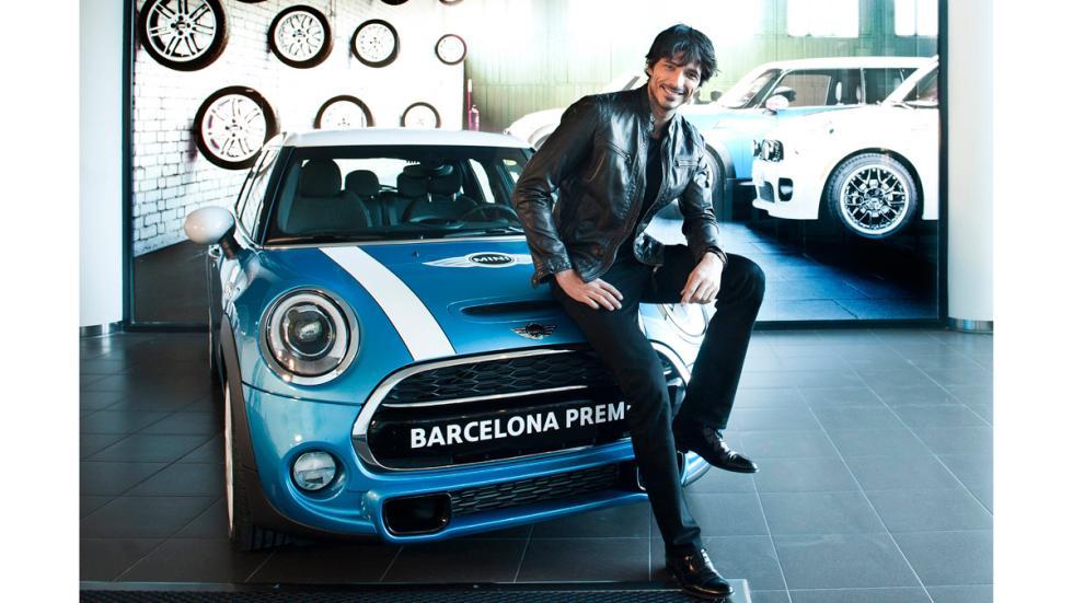 Andrés Velencoso embajador Mini de Barcelona Premium