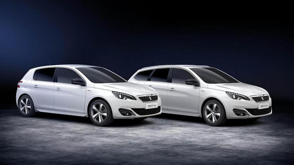 Peugeot 308 GT Line y 308 SW GT Line