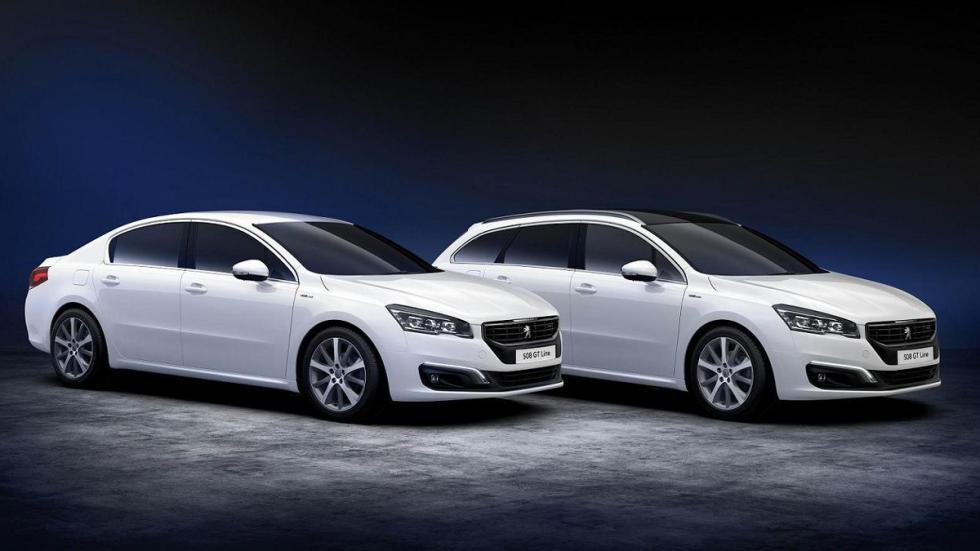 Peugeot 508 GT Line y 508 SW GT Line