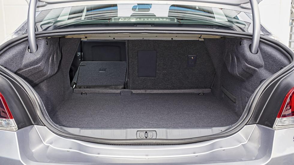 Maletero del Peugeot 508 Blue HDi 150: 515 litros