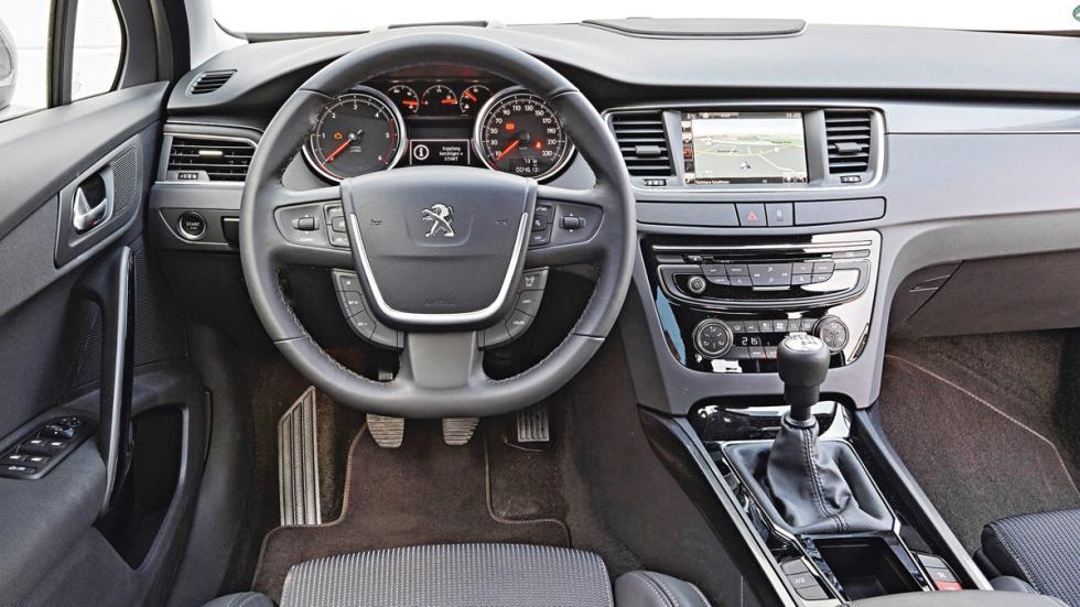 Interior del Peugeot 508 Blue HDi 150