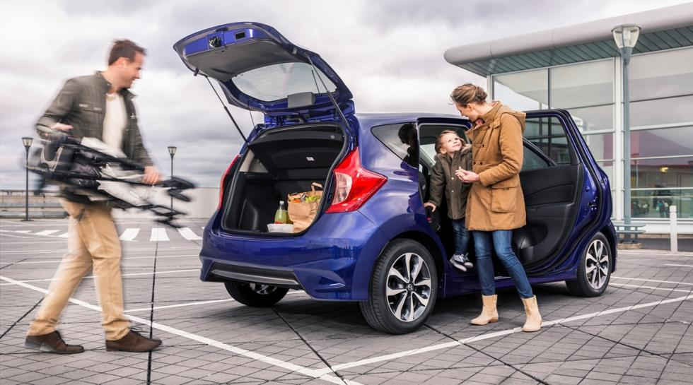 Nuevo Nissan Note 'N-TEC' limited edition trasera
