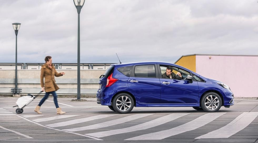 Nuevo Nissan Note 'N-TEC' limited edition lateral
