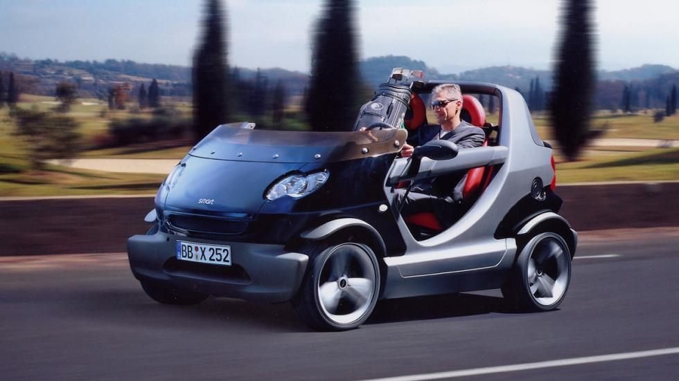 coches más locos smart crossblade