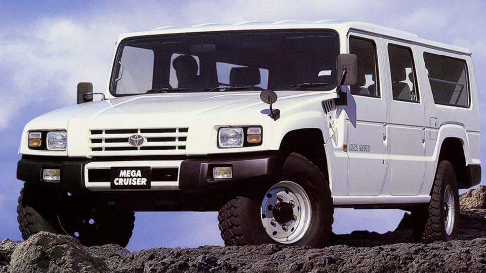 coches más locos Toyota Mega Cruiser