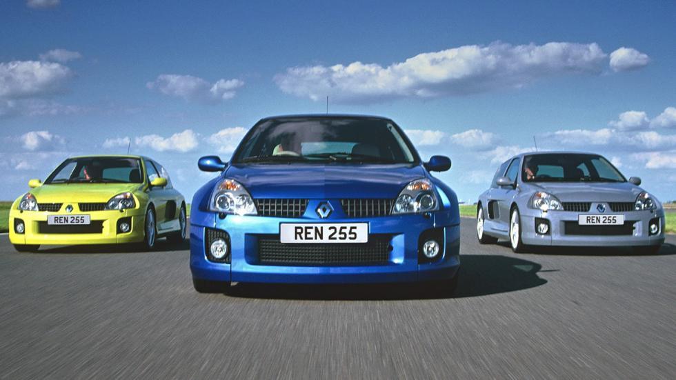coches más locos Renault Clio V6