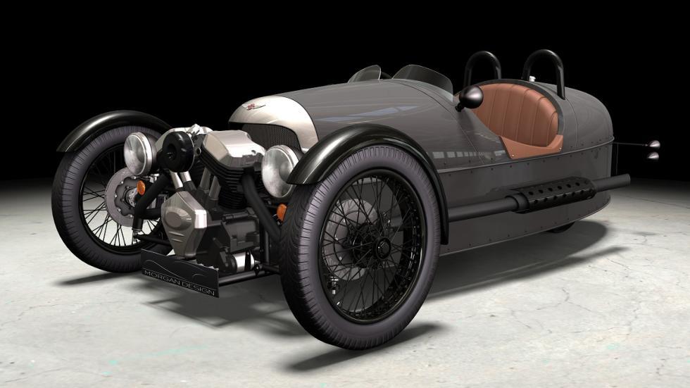 coches más locos Morgan 3 Wheeler