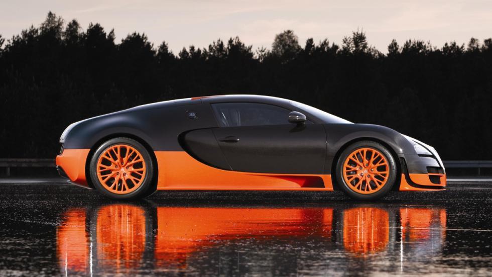 coches más locos Bugatti Veyron