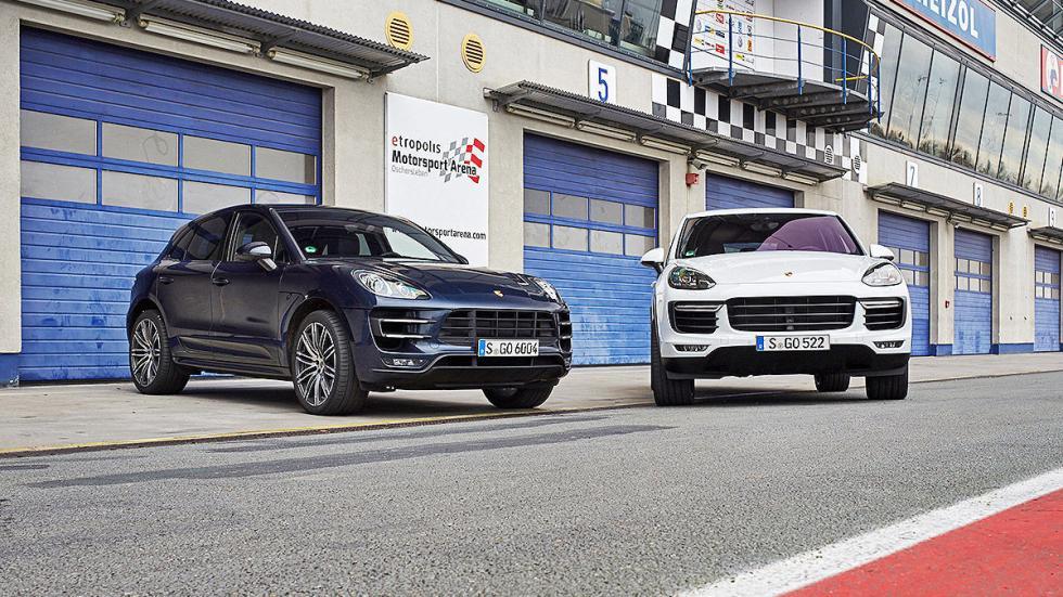 Porsche Macan y Cayenne