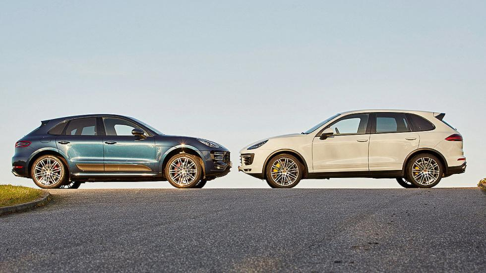 Porsche Macan y Cayenne lateral