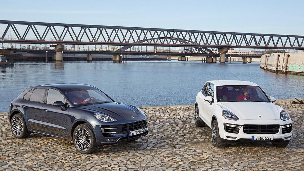 Porsche Macan y Cayenne cenital