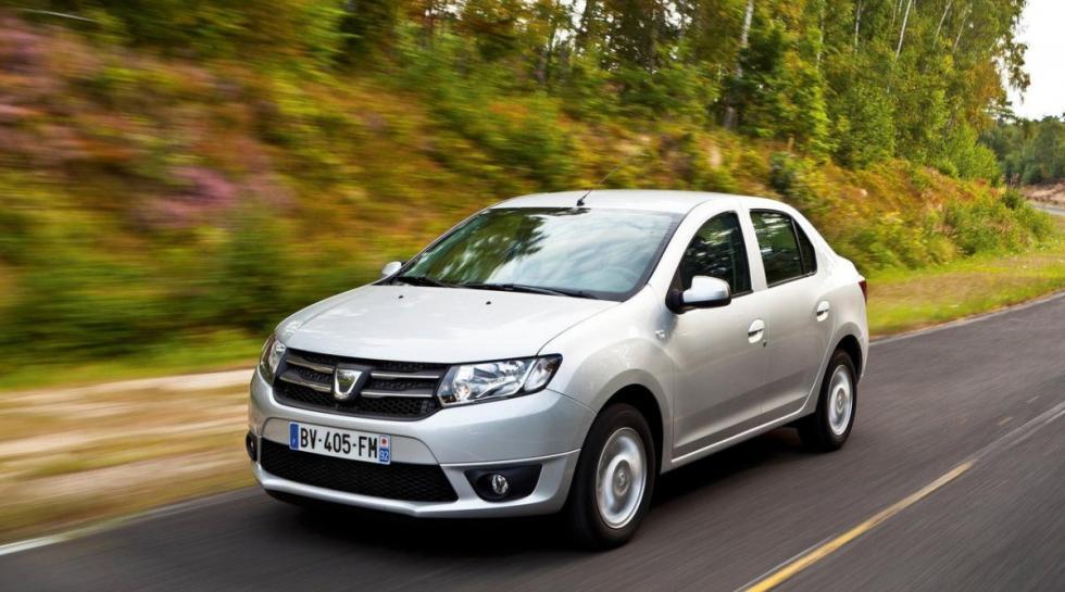 Dacia Logan delantera