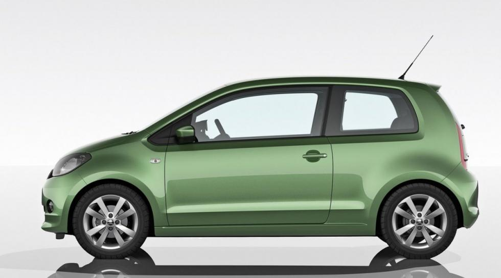 Skoda Citigo lateral