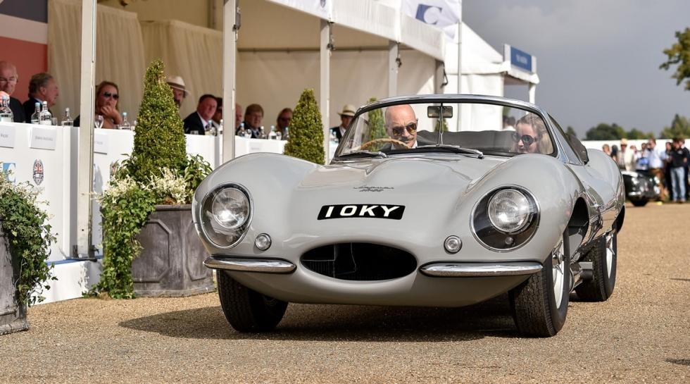 Jaguar XKSS frontal