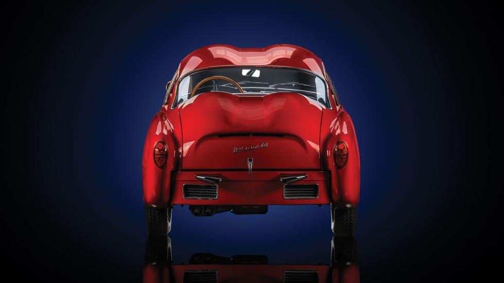 Fiat Abarth 750 Zagato trasera