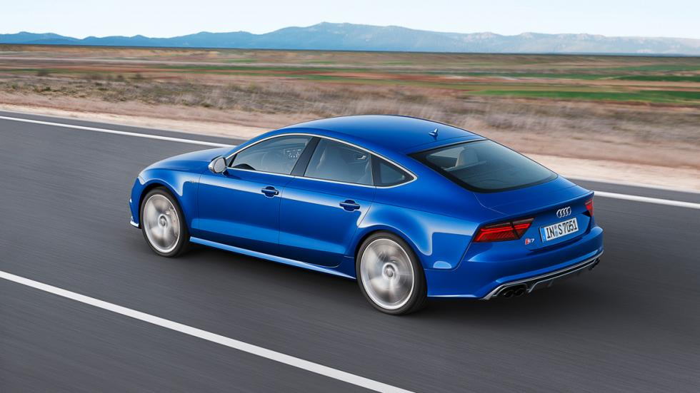 Audi S7 Sportback trasera