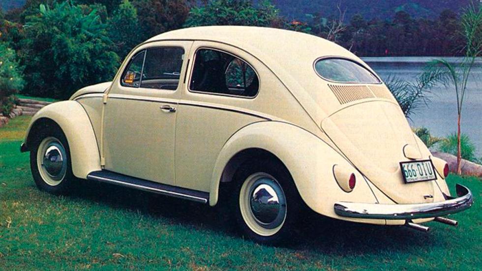 Volkswagen Beetle trasera