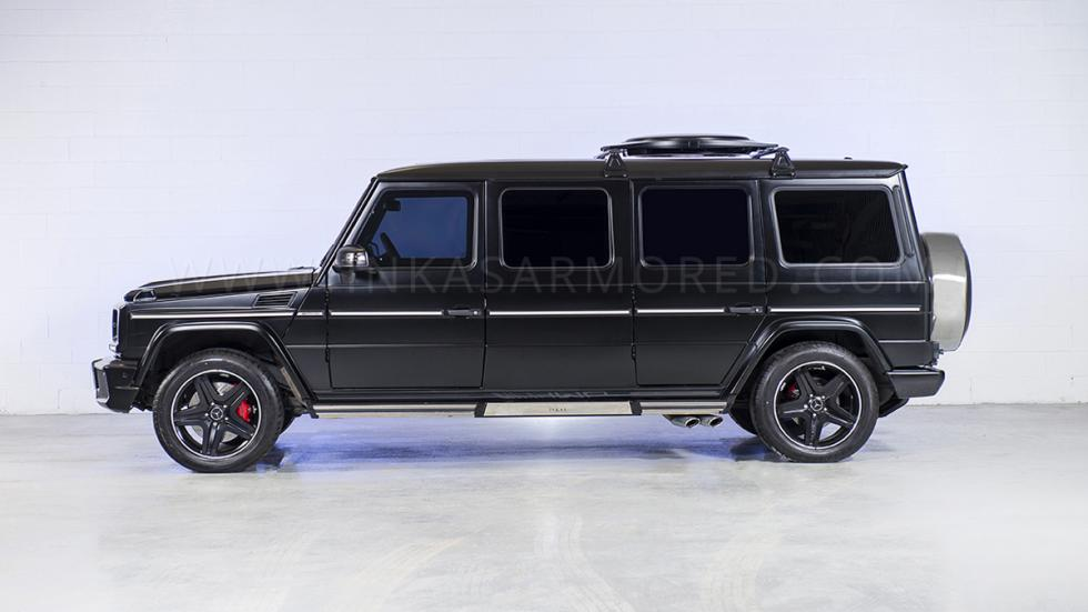 Mercedes G63 AMG blindado lateral