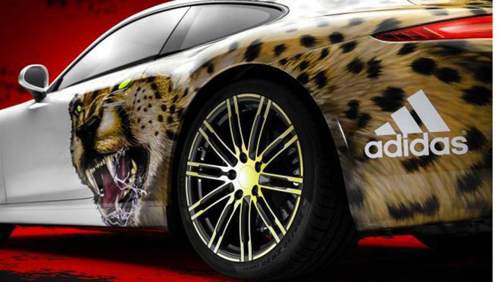 Adidas personaliza un Porsche 911 5