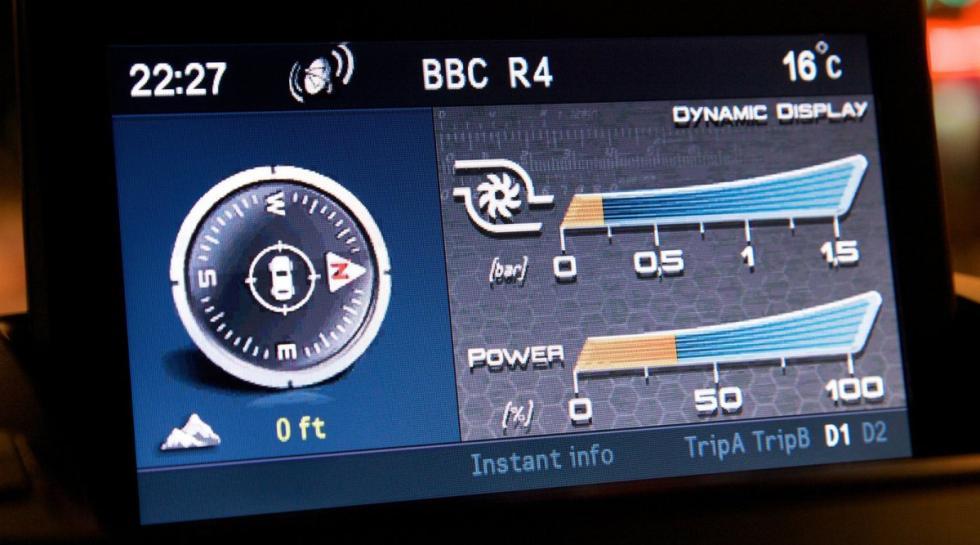 Alfa Romeo Giulietta Quadrifoglio Verde pantalla