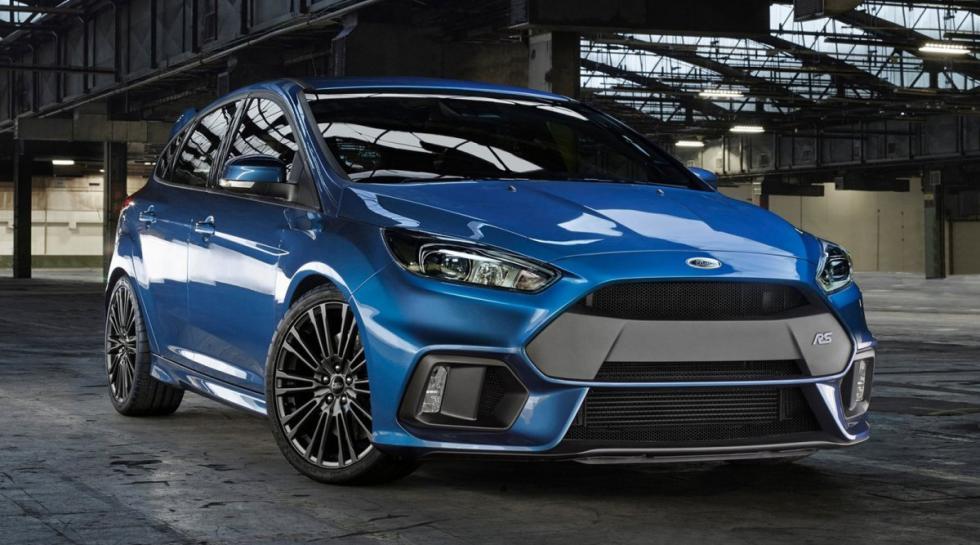 Ford Focus RS 2015 delantera