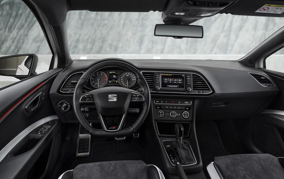prueba Seat León ST Cupra