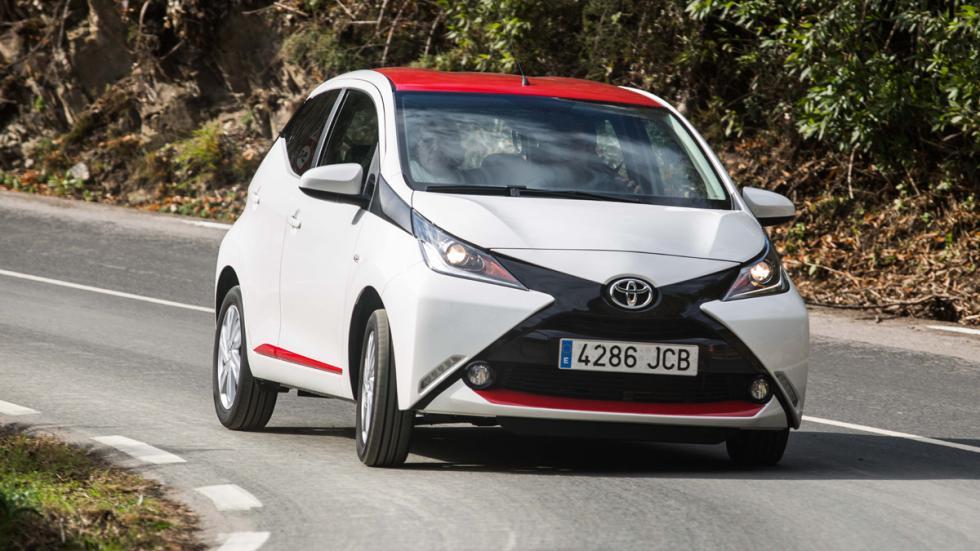 coches para universitarios Toyota Aygo