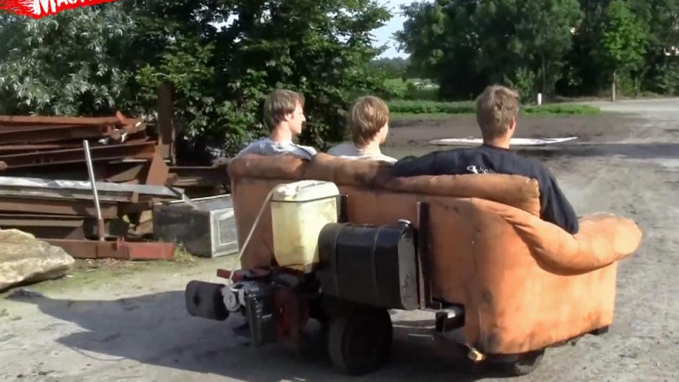 Sofá motorizado zaga