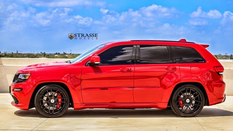 Jeep Grand Cherokee SRT de Strasse Wheels lateral detalle