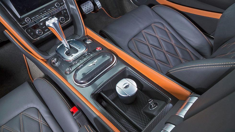 Bentley Continental GT Speed detalle interior