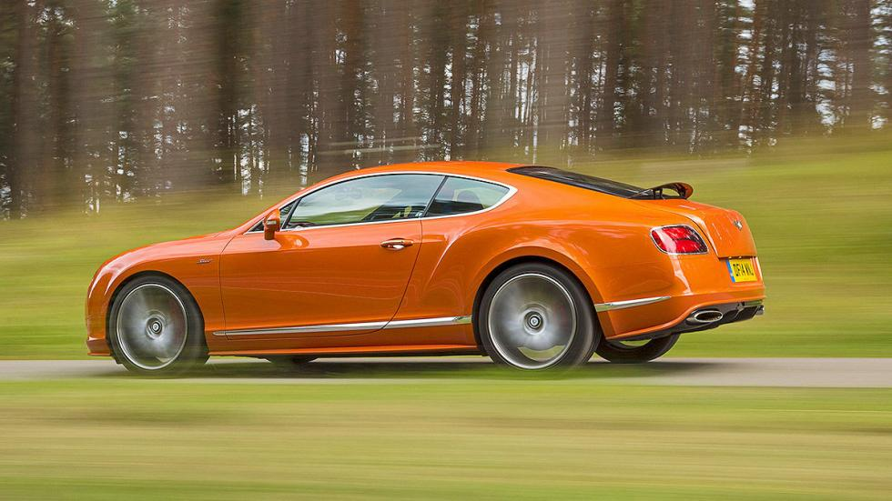 Bentley Continental GT Speed detalle lateral