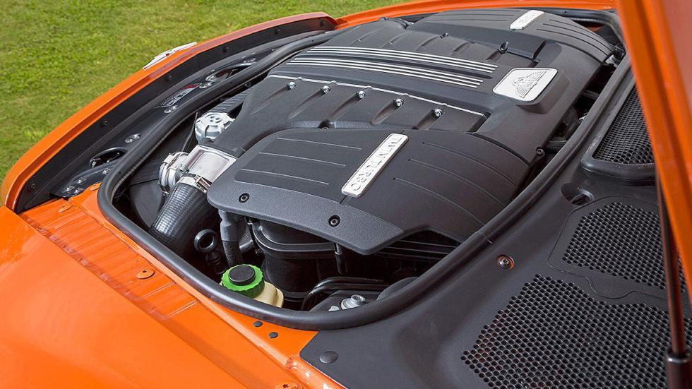Bentley Continental GT Speed detalle motor