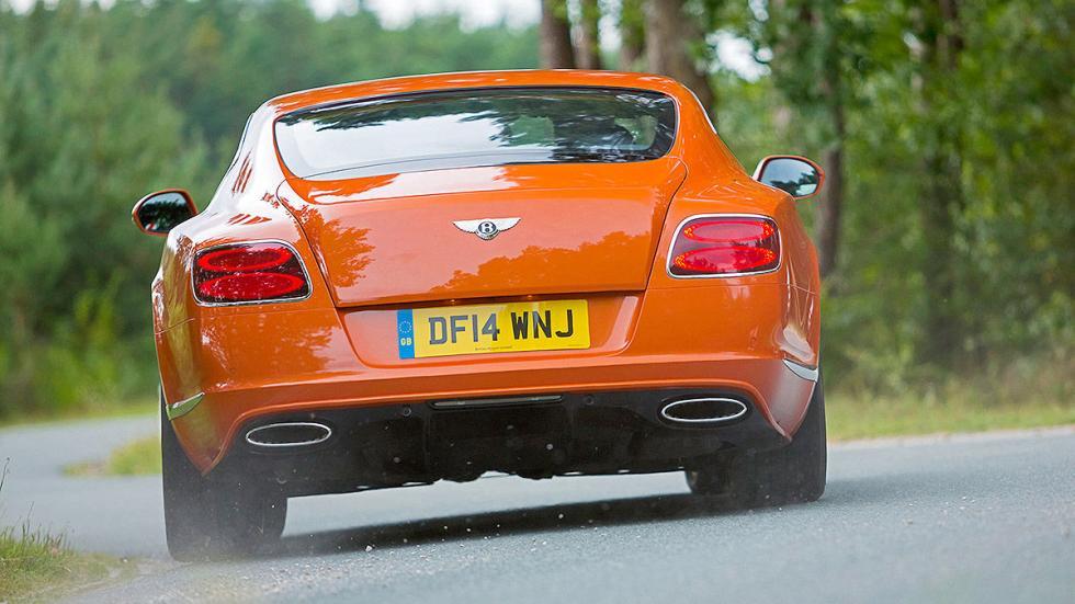 Bentley Continental GT Speed detalle zaga