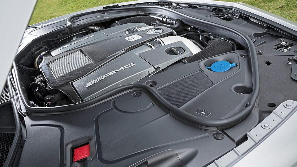 Mercedes S 63 AMG motor