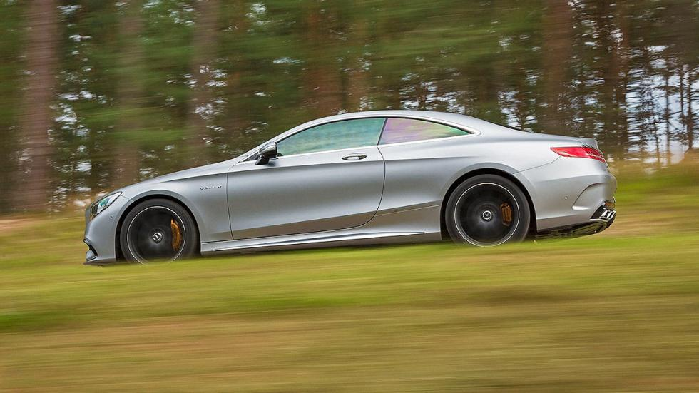 Mercedes S 63 AMG lateral