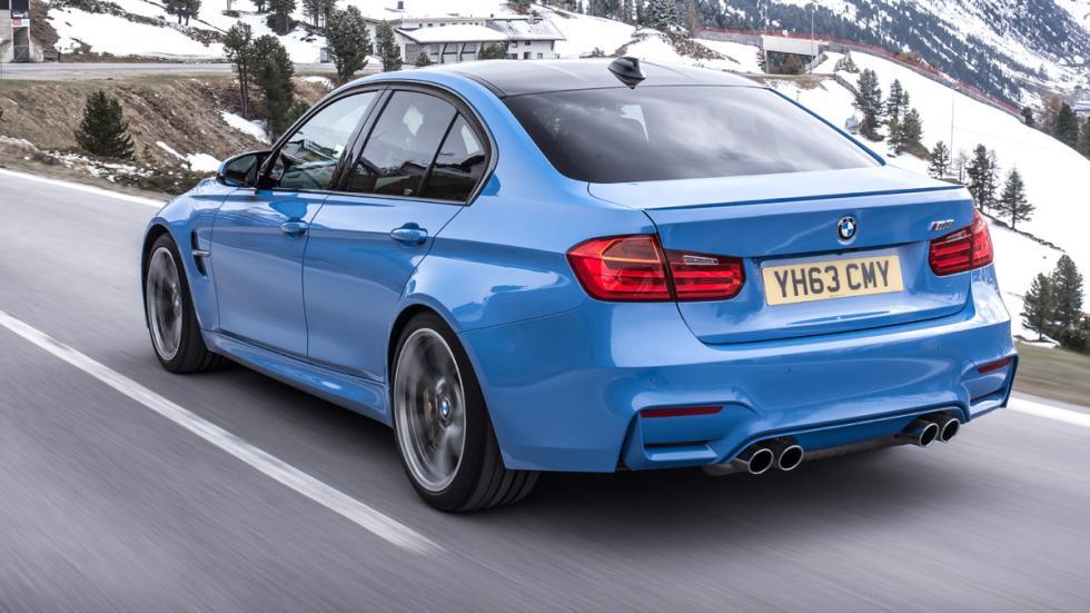deportivos carrocería familiar BMW M3 zaga
