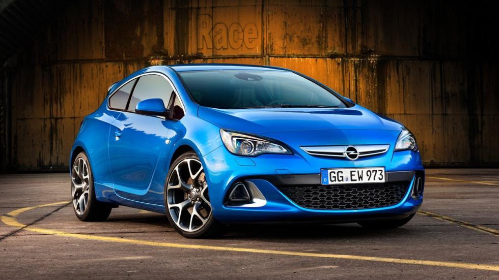 deportivos carrocería familiar Opel Astra OPC