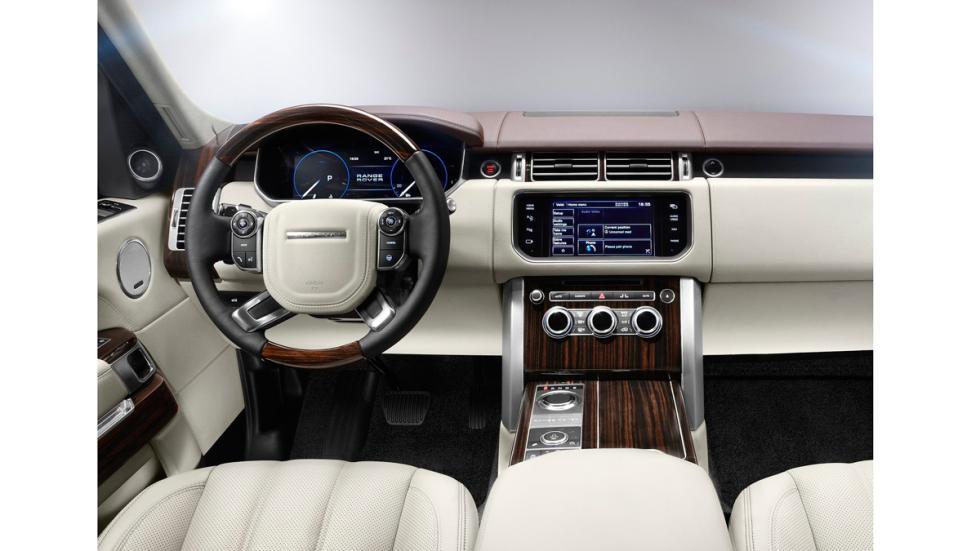 Land Rover Range Rover - interior