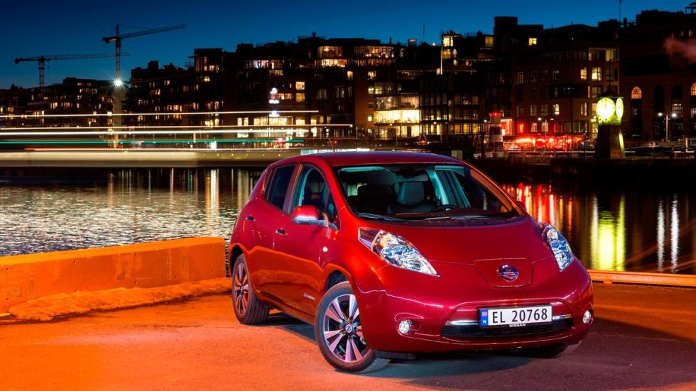 Nissan Leaf - delantera