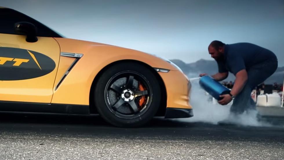 Nissan GT-R más rápidos Gosha Turbo Tech Moses dos