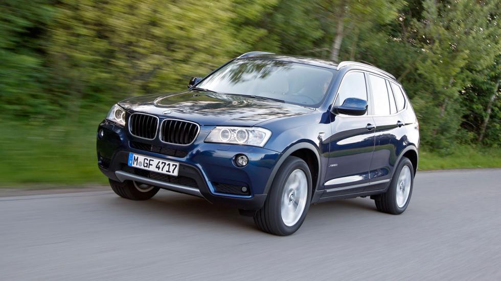 BMW X3 frontal
