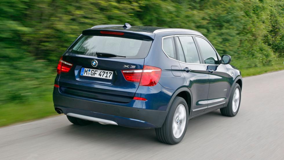 BMW X3 trasera