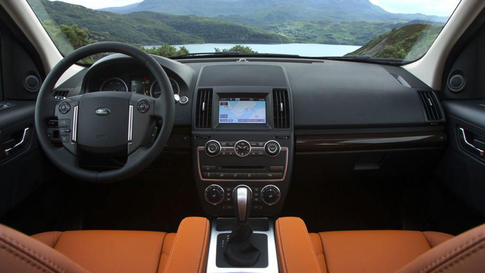 interior del Land Rover Freelander