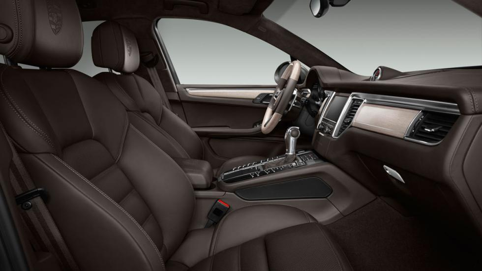interior del Porsche Macan