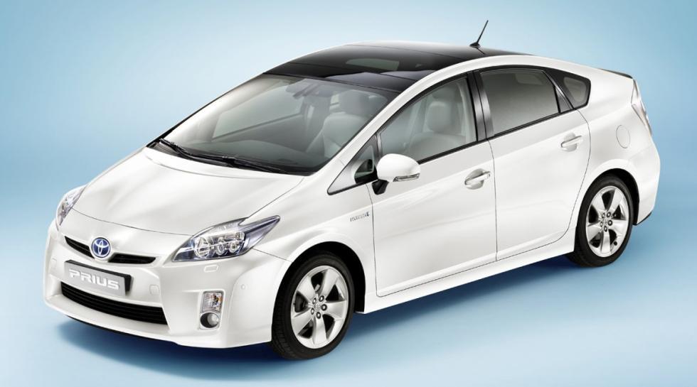 Toyota Prius delantera