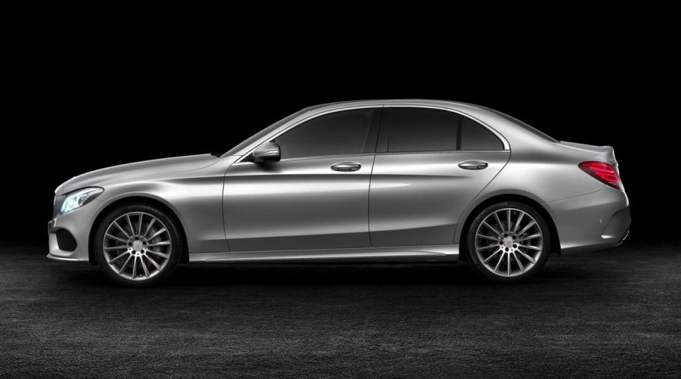 Mercedes Clase C lateral