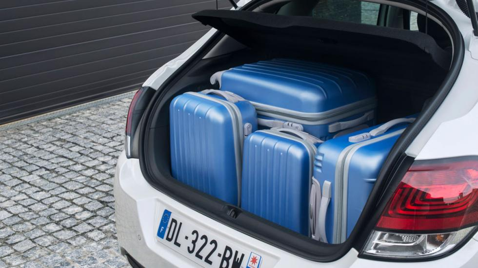 Citroën C4 2015 maletero