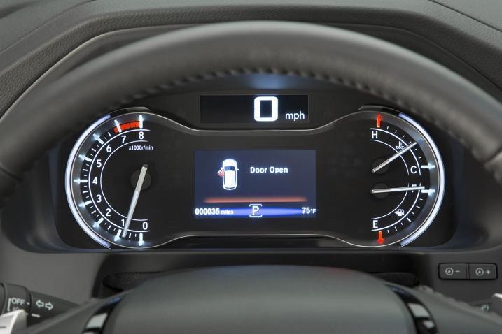 Honda Pilot 2016 relojes