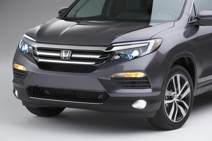 Honda Pilot 2016 frontal